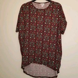 Lularoe XXS Irma Tunic Top Hi Low Oversized